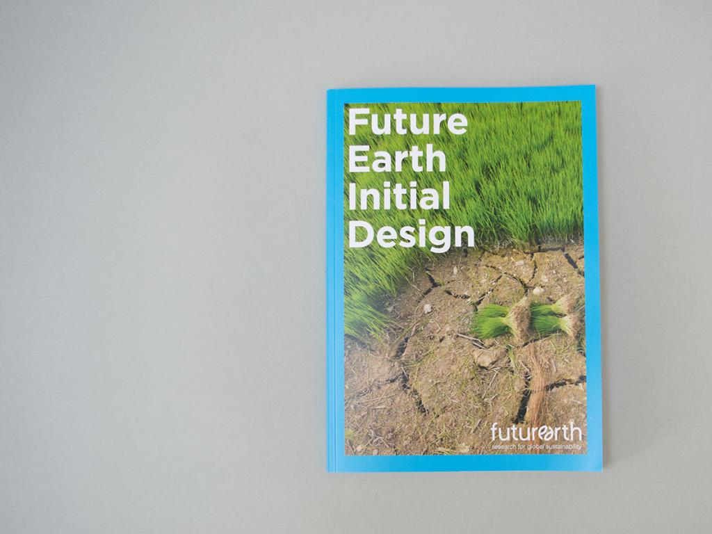 very serious design, corporate design, editorial design made in Hamburg Future Earth