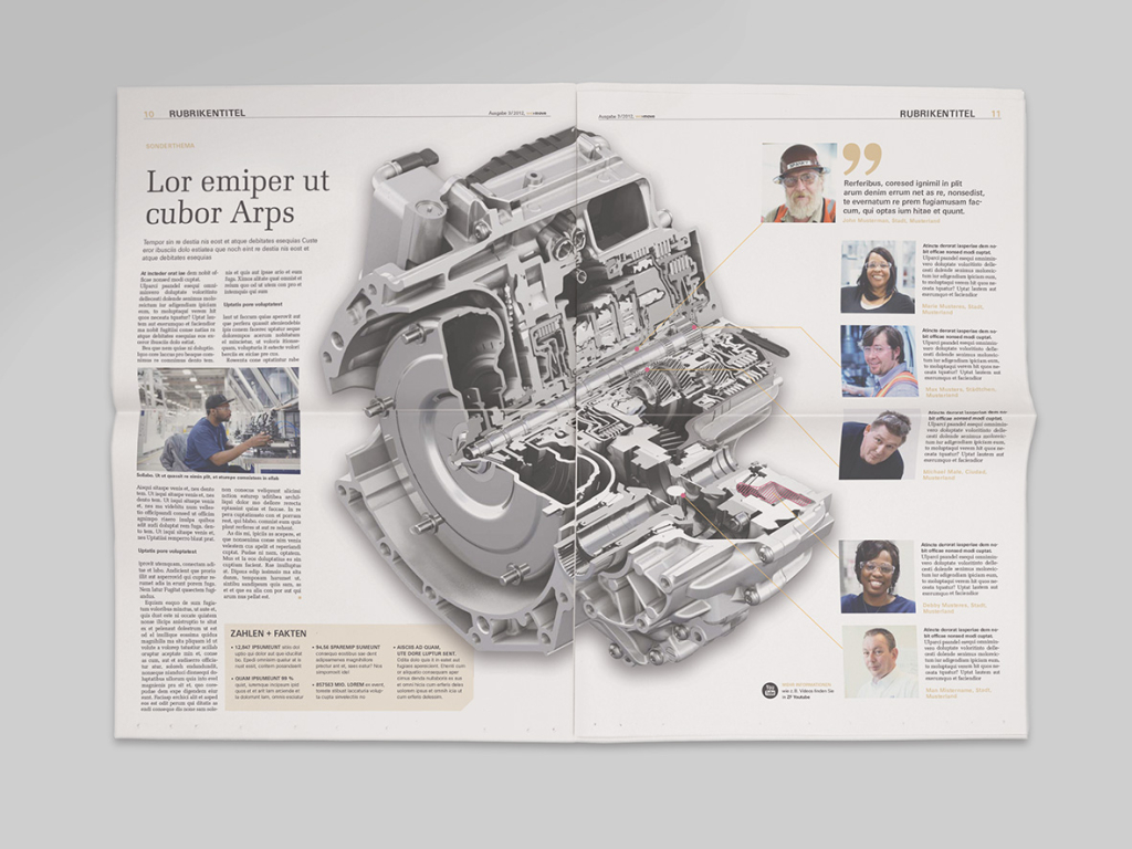 very serious design, corporate design, editorial design made in Hamburg ZF we›move