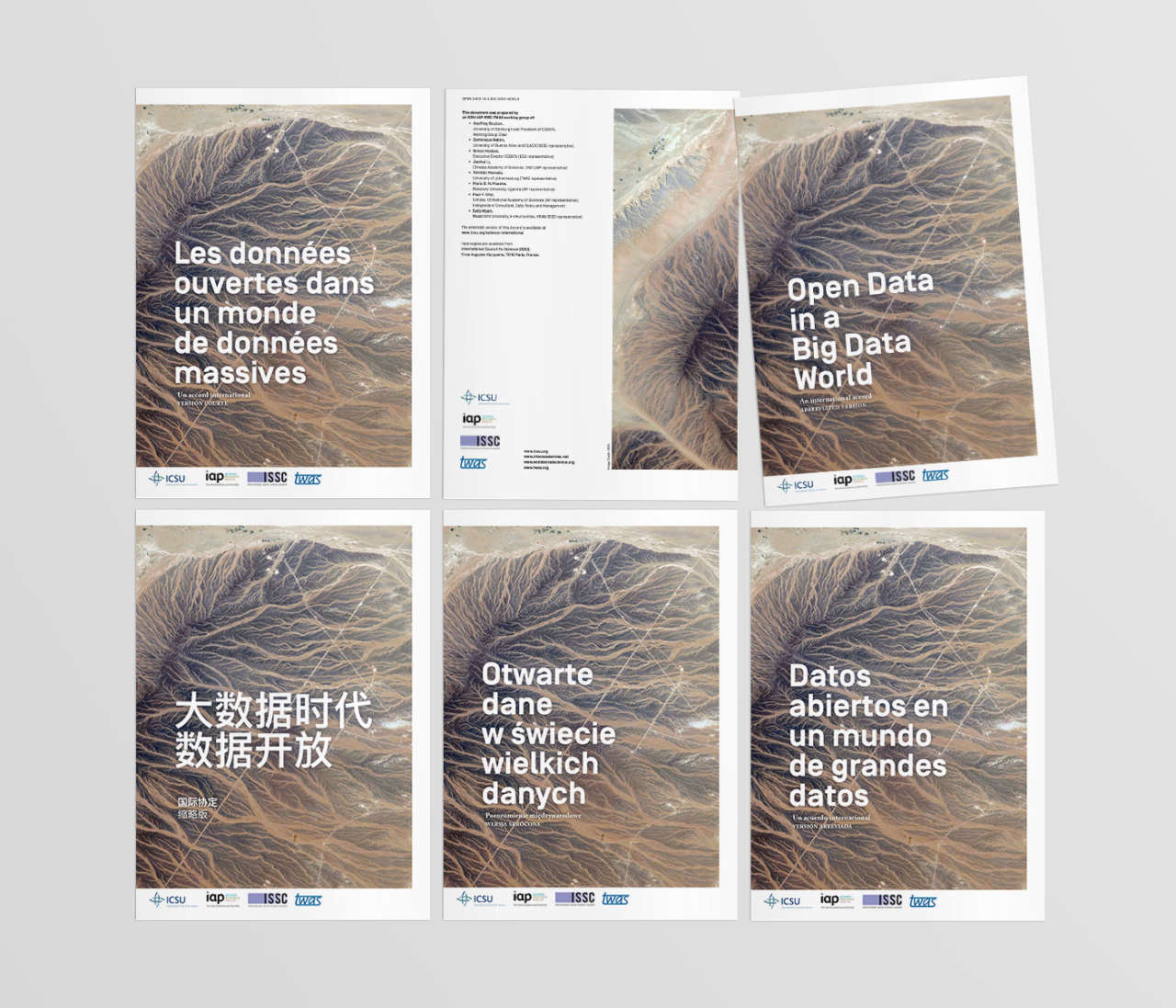 very serious design, corporate design, editorial design made in Hamburg ICSU – Open Data in a Big Data World